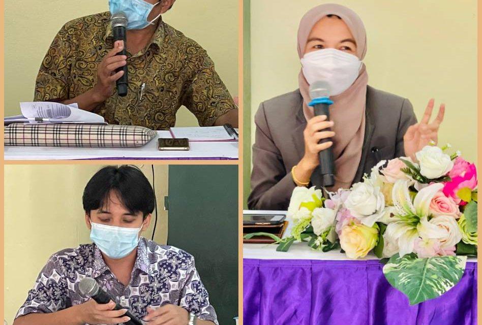 คณะกรรมการนิเทศติดตามการเตรียมความพร้อมก่อนเปิดภาคเรียนที่ 1/2564